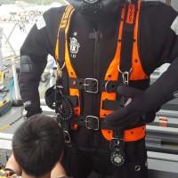 潜水艦救難母艦ちよだ潜水服