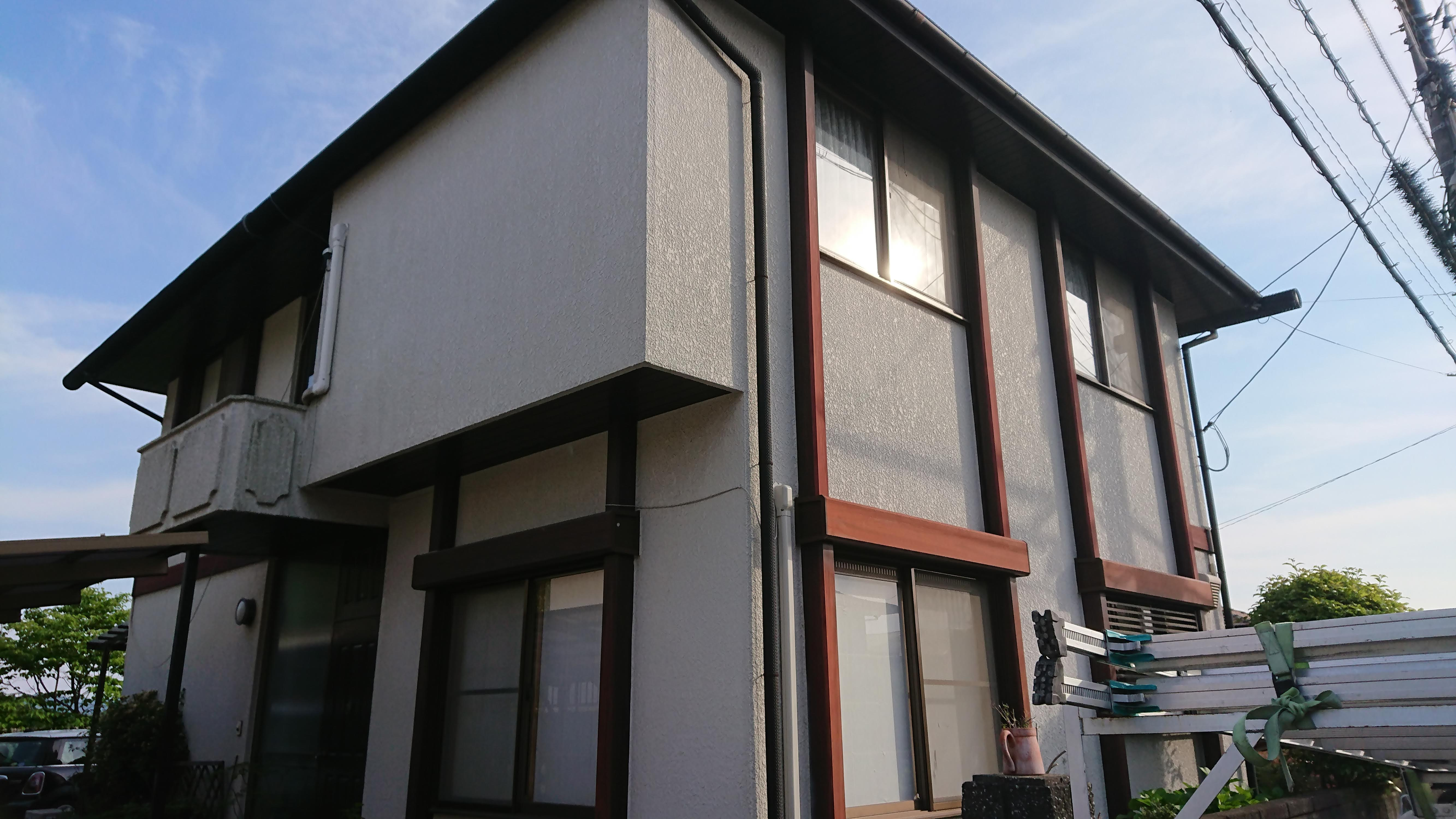 岡山 倉敷 早島 外壁塗装 屋根塗装 リフォーム にこぺいんと