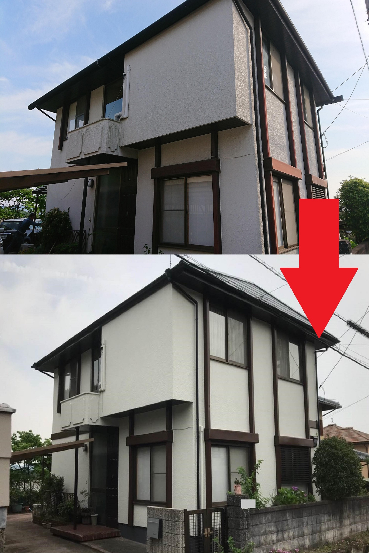 岡山 倉敷 早島 外壁塗装 屋根塗装 リフォーム にこぺいいんと