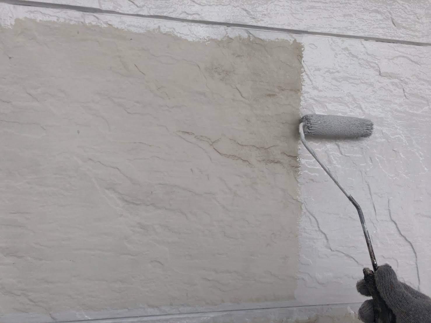 外壁(サイディング)中塗り