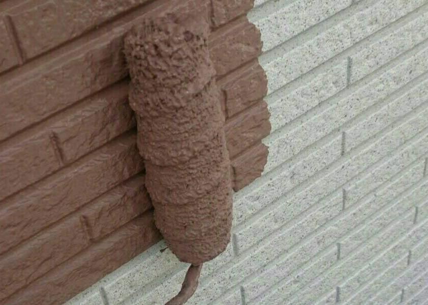 HP用外壁中塗り