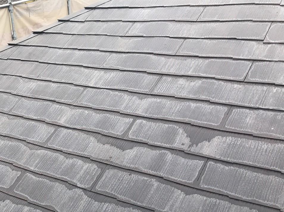 HP用屋根施工前